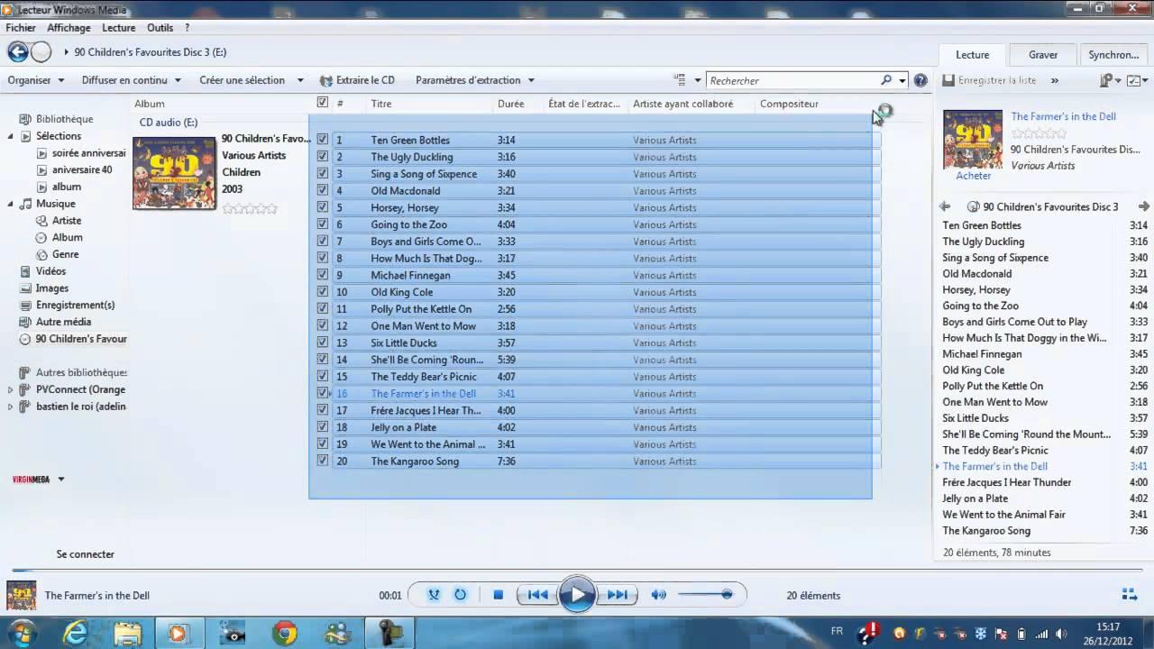 Comment graver des musique sur un cd